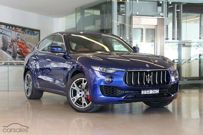 New Used Maserati Levante Cars For Sale In Sydney New South Wales