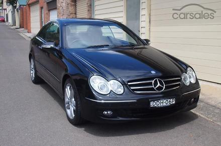 2007 mercedes benz clk500 avantgarde auto my08 for Mercedes benz car payment
