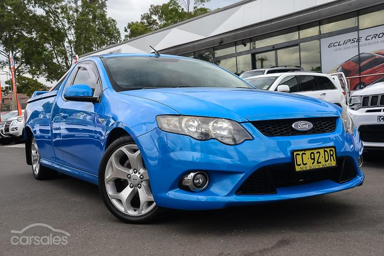 New Used Ford Falcon Ute Cars For Sale In Sydney West New South
