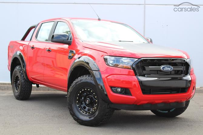 2017 Ford Ranger XLS PX MkII Auto 4x4 Double Cab