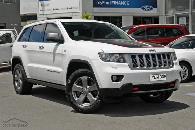 new used jeep grand cherokee trailhawk cars for sale in australia