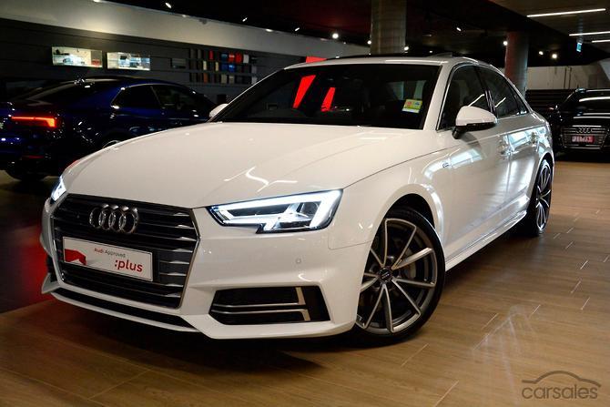 2017 Audi A4 S Line Auto Quattro My18