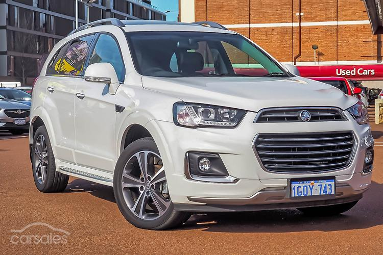 New Used Holden Captiva Cars For Sale In Perth Western Australia