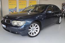 2002 BMW 745i E65 Auto