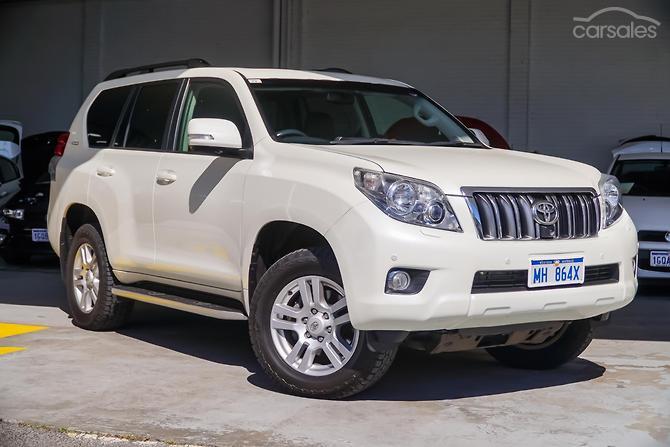 New Used Toyota Landcruiser Prado Cars For Sale In Australia