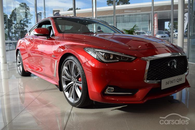 2018 Infiniti Q60 Red Sport Auto