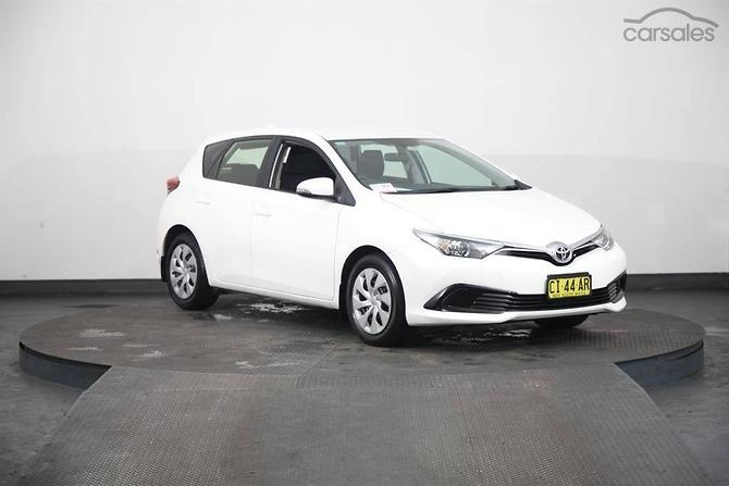 New Used Toyota Corolla Cars For Sale In New South Wales