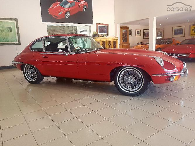 1970 Jaguar E Type 2+2 Auto