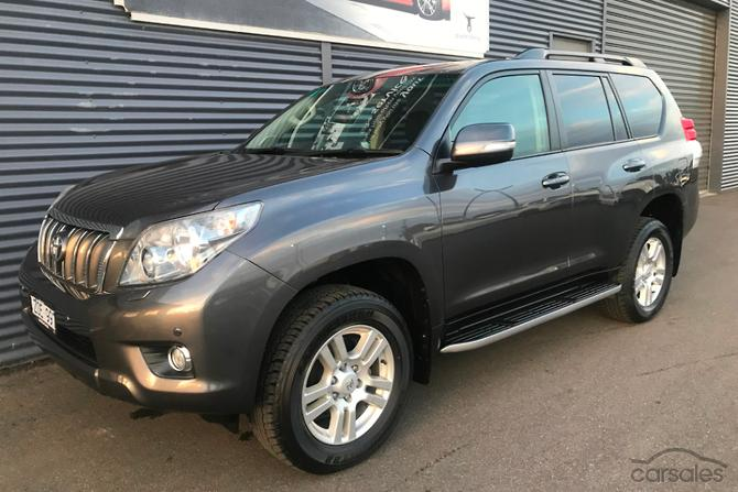 Toyota Large Suv >> New Used Toyota Landcruiser Prado Large Suv Cars For Sale In
