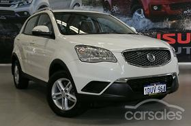 New Used Ssangyong Cars For Sale In Australia Carsales Com Au