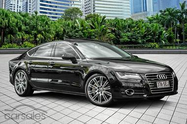 New Used Audi A7 Green 5 Doors Cars For Sale In Australia