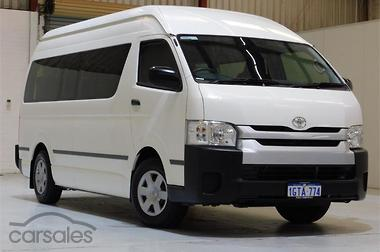 18bc196303 New   Used Toyota Hiace Commuter cars for sale in Australia ...
