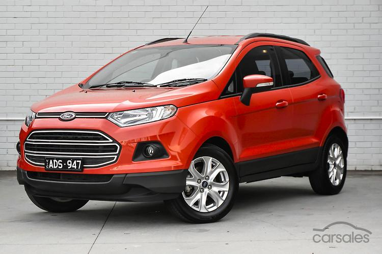 New Used Ford Ecosport Red 5 Doors Cars For Sale In Australia