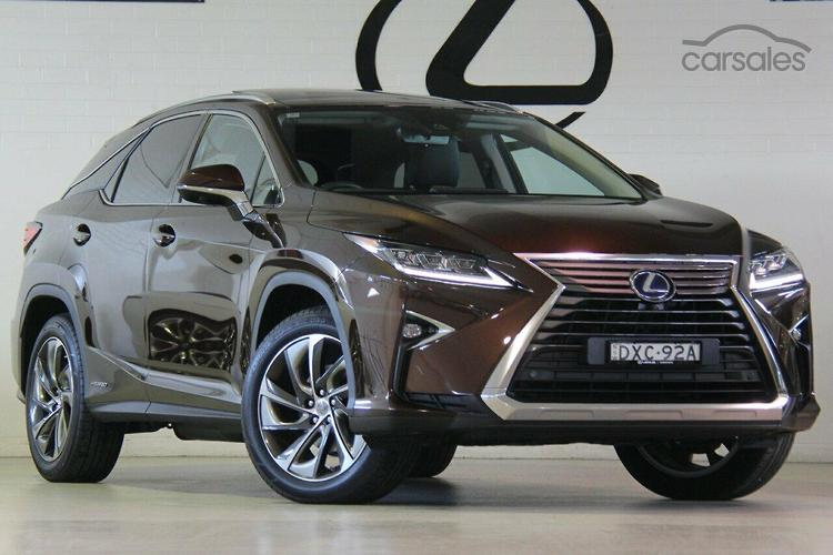 2017 Lexus RX450h Sports Luxury Auto 4x4