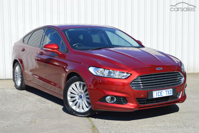 New Used Ford Mondeo Cars For Sale In Victoria Carsales