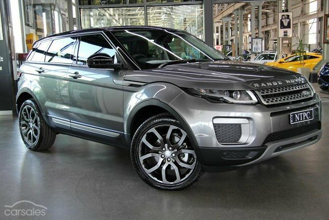 2017 Land Rover Range Evoque Td4 150 Se Auto 4x4 My17
