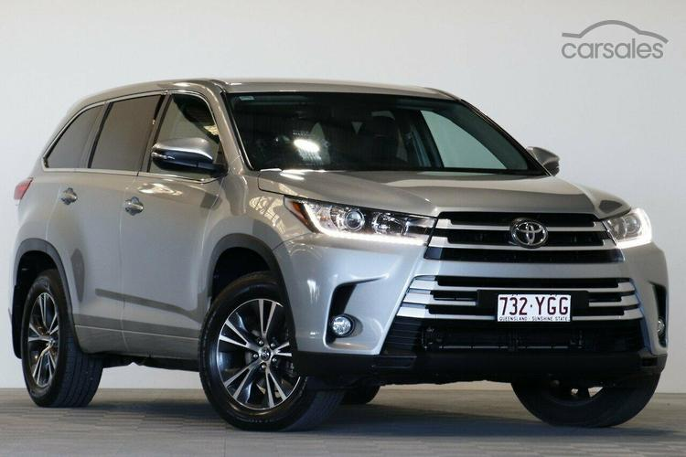 Toyota kluger for sale qld