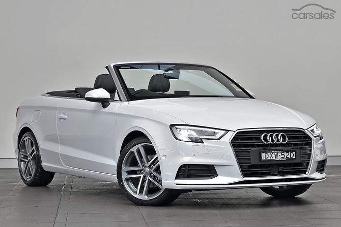 New Used Audi A Convertible Cars For Sale In Australia Carsales - Audi a3 convertible