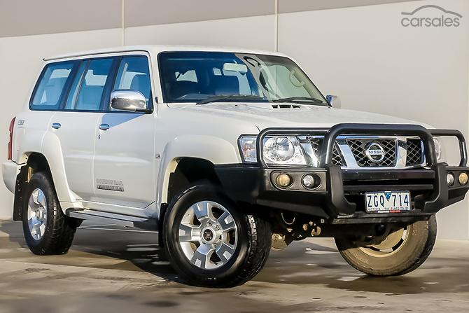 New used nissan patrol cars for sale in australia carsales 2012 nissan patrol st gu 7 manual 4x4 my10 fandeluxe Choice Image