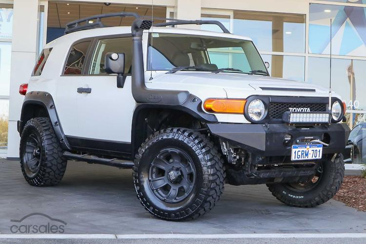 New Used Toyota Fj Cruiser Cars For Sale In Perth Western