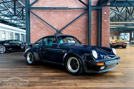 1986 Porsche 911 Carrera Manual