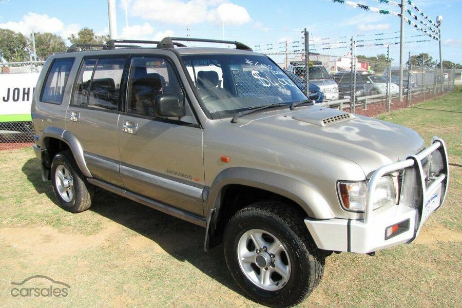 2001 Holden Jackaroo Se U8 Auto 4x4 My02 Oag Ad 17157176 Carsales Com Au
