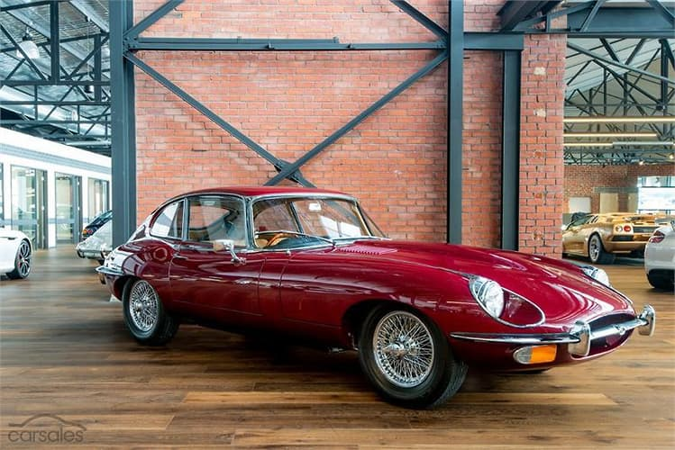 1969 Jaguar E Type 2+2 Manual