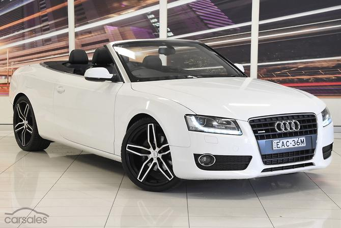 New Used Audi A5 White 2 Doors Cars For Sale In Australia