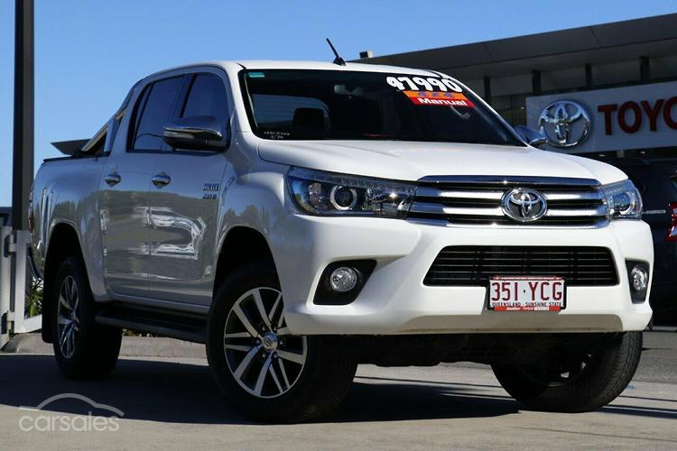 new used toyota hilux white tradie manual 4 cylinders diesel cars rh carsales com au manual transmission diesel cars for sale used manual diesel cars for sale