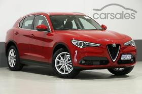 New Used Alfa Romeo Stelvio Red Cars For Sale In Australia