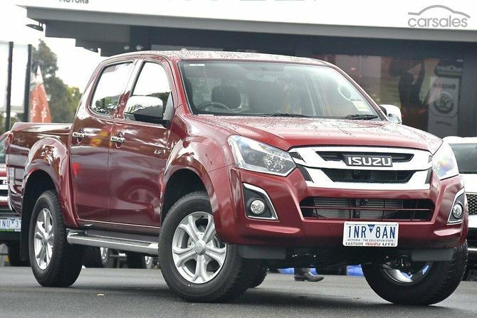 2018 Isuzu D Max Ls U Auto 4x4 My18