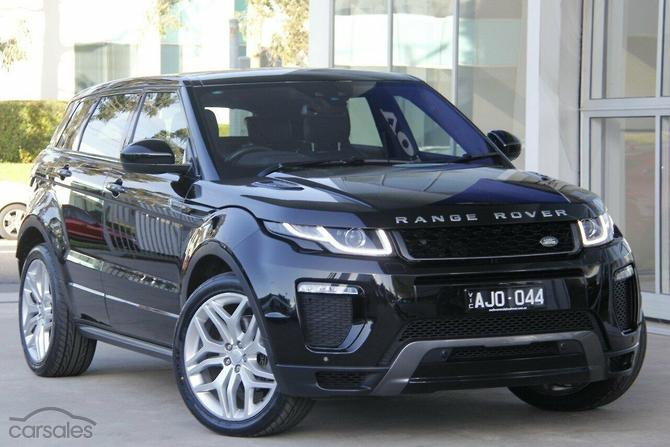 667f9d63f New & Used Land Rover Range Rover Evoque cars for sale in Australia ...