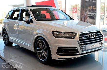 Audi SQ TDI Auto WD MY - Audi 4wd