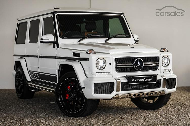 New Used Mercedes Benz G Class White Cars For Sale In Australia