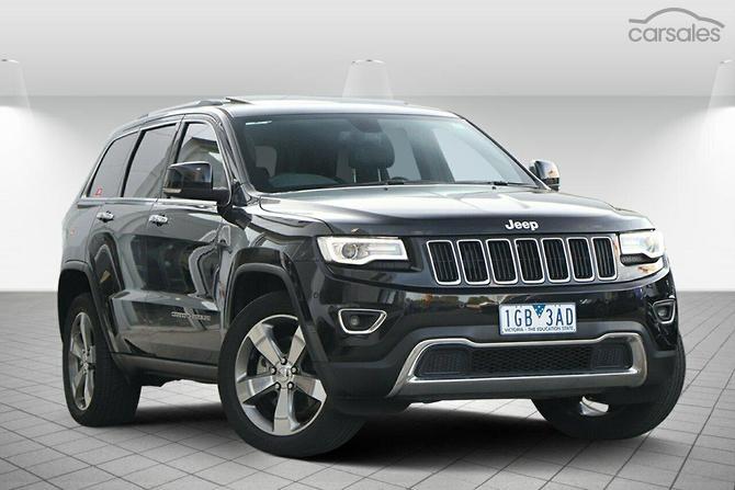 2017 Jeep Grand Cherokee Limited Auto 4x4 My15