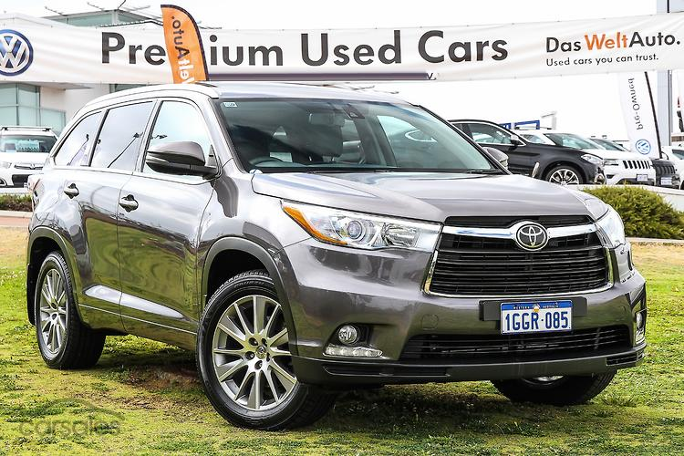 New Used Toyota Kluger Cars For Sale In Osborne Park City Of