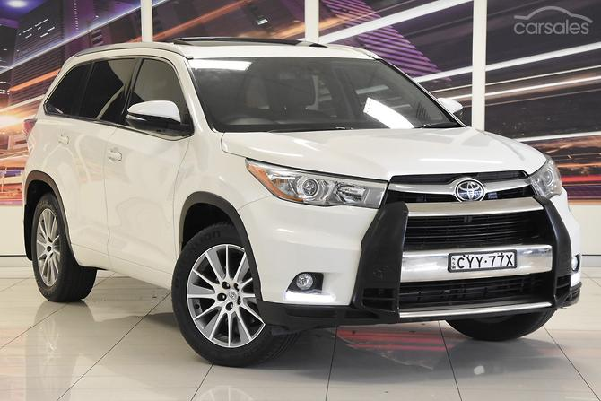 New Used Toyota Kluger Cars For Sale In Australia Carsales Com Au