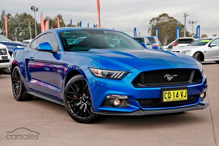 New Used Ford Mustang Blue Cars For Sale In New South Wales