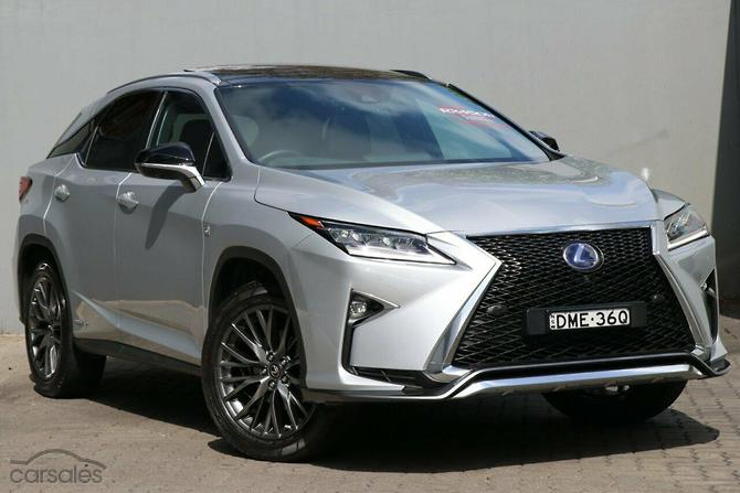 New  Used Lexus RX450h cars for sale in Australia  carsalescomau