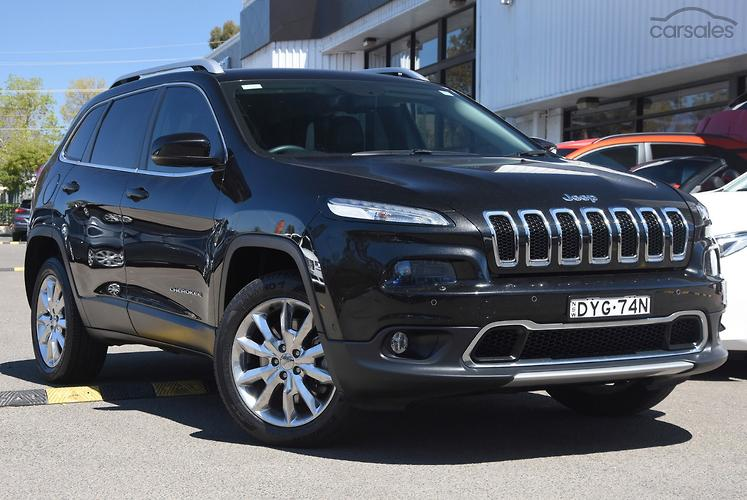 2016 Jeep Cherokee Limited Auto 4x4 MY16