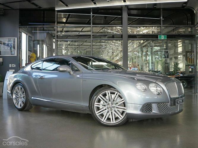 Bentley continental price australia