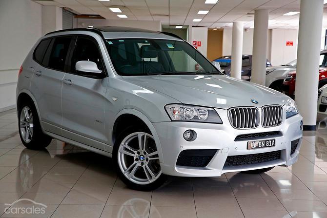 2011 BMW X3 xDrive30d F25 Auto 4x4 MY12