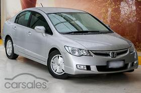 New Used Honda Civic Hybrid Cars For Sale In Australia Carsales