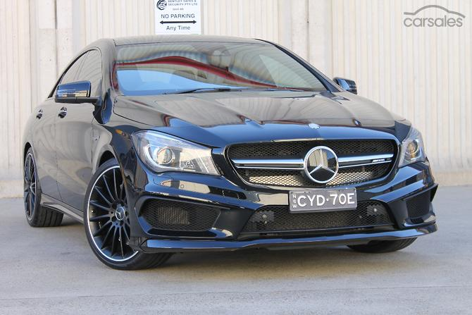 New Mercedes Benz Cla45 Cars For In Australia