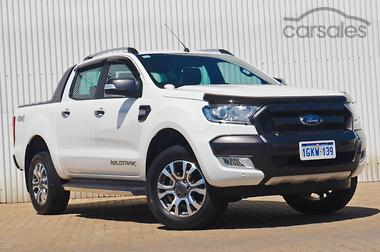2016 Ford Ranger Wildtrak PX MkII Manual 4x4 Double Cab