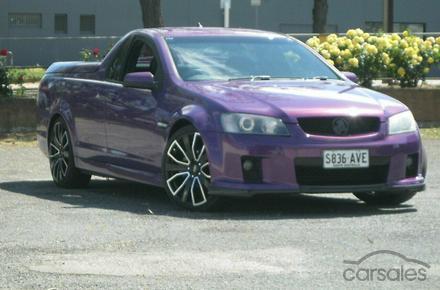 2007 Holden Ute Sv6 Ve Manual