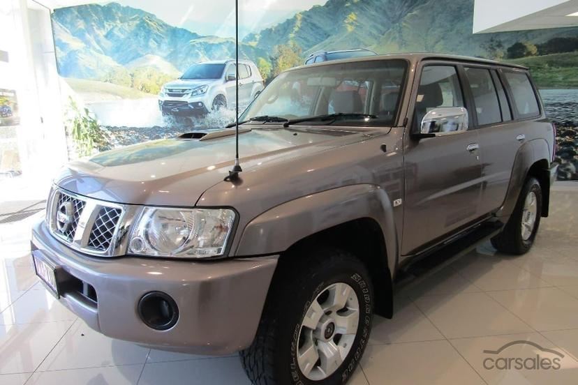 2009 Nissan Patrol St Gu 6 Manual 4x4 My08