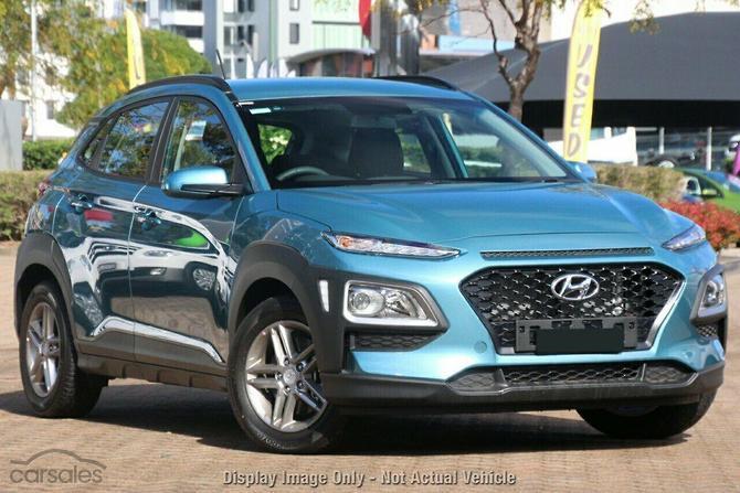 2017 Hyundai Kona Active Auto Awd My18