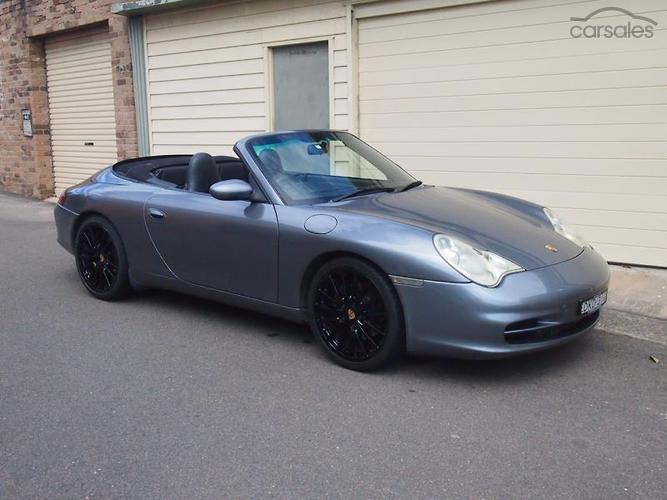 2002 Porsche 911 Carrera Cabriolet 996 Auto MY02