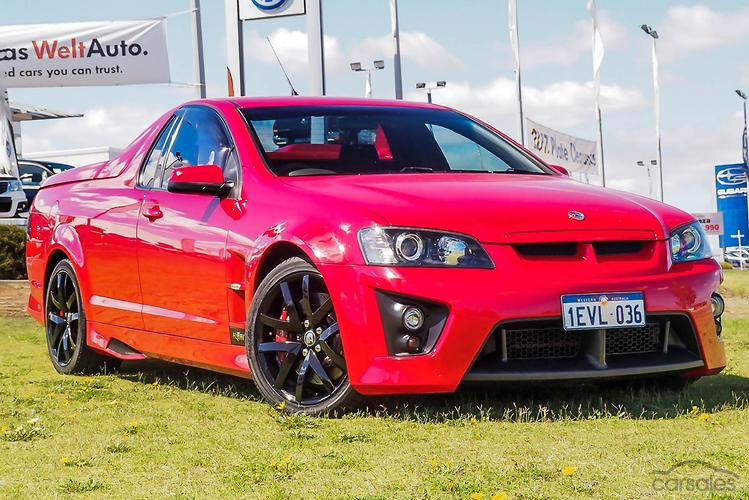 2008 Holden Special Vehicles Maloo R8 Auto MY09
